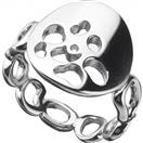 Tiffany & Co. Lady's Silver Ring 925 Silver 7.5g Size:6